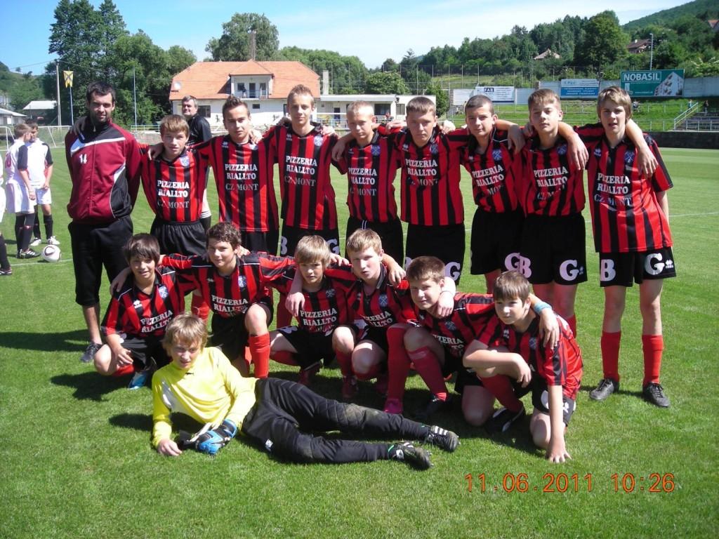 Starší žiaci v sezóne 2010/2011 - II. liga