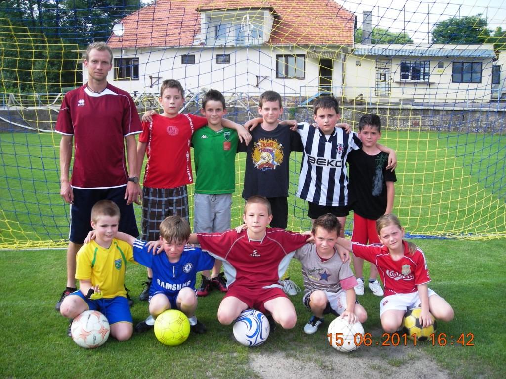 Družstvo prípravky v sezóne 2010/2011