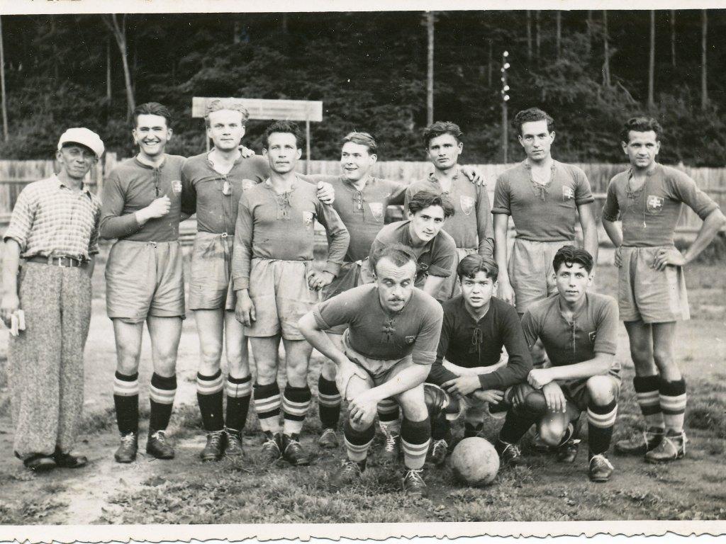 Mužstvo ŠK Nová Baňa v roku 1936
