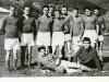 Rok 1952, turnajový zápas ZSJ Nová Baňa – Sandrik Dolné Hámre