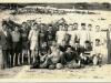 Rok 1954; priateľský futbalový zápas Slovan Nová Baňa – PDA Levice