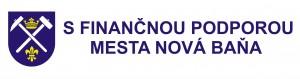 Predpísané propagačné logo Mesto Nová Baňa 2014